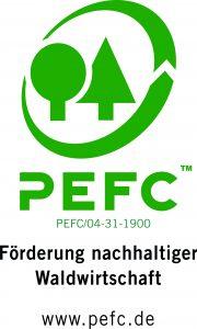 PEFC-Zertifikat GD Holz Service GmbH