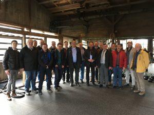 Arbeitsgemeinschaft der Holz-Sachverständigen auf der Frühjahrstagung 2017 im Hunsrück.